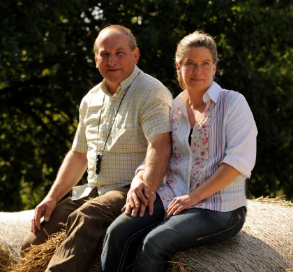Besitzer Vishaka Kess und Joachim Schiedel